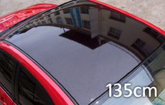 Roof glossy black